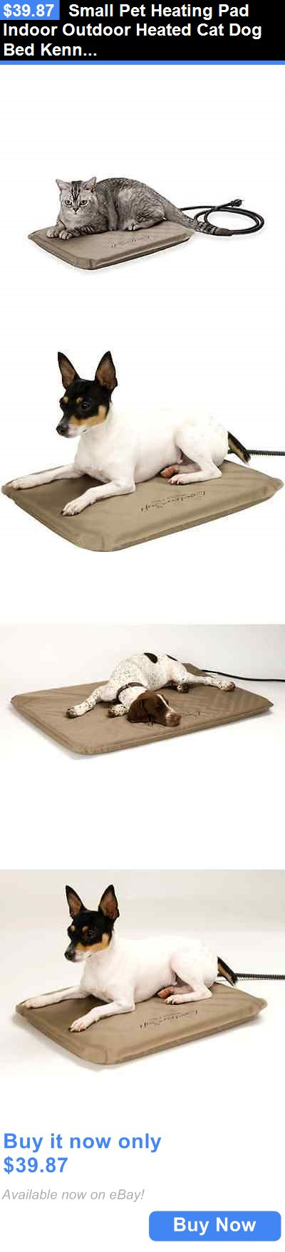 Animals Dog: Small Pet Heating Pad Indoor Outdoor Heated Cat Dog Bed Kennel Doghouse Heater BUY IT NOW ONLY: $39.87