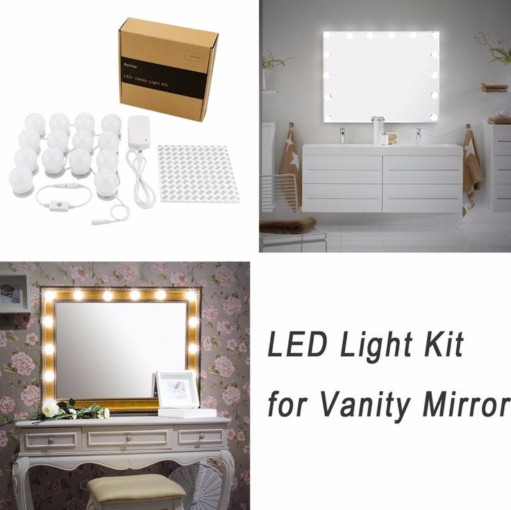 414 best images on pinterest baking soda for Lumiere led miroir