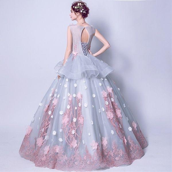 Pink Elegant Lace Wedding Banquet Evening Dress Streettide Evening Dresses Maxi Dress With Sleeves Long Sleeve Maxi Dress