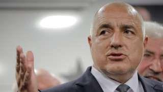 Bulgaria's pro-EU Borisov set for victory exit polls suggest
