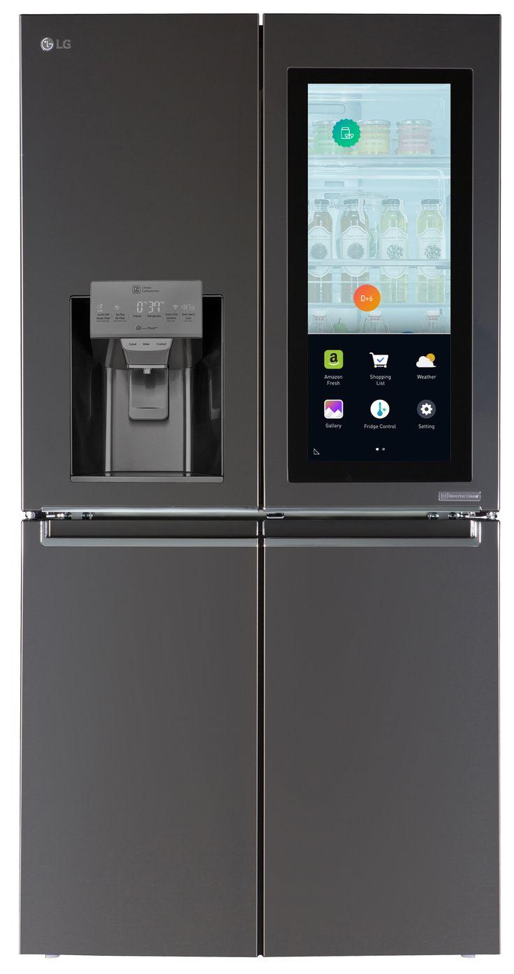 [CES 2017] LG présente un réfrigérateur connecté sous webOs ! (Journaldugeek)