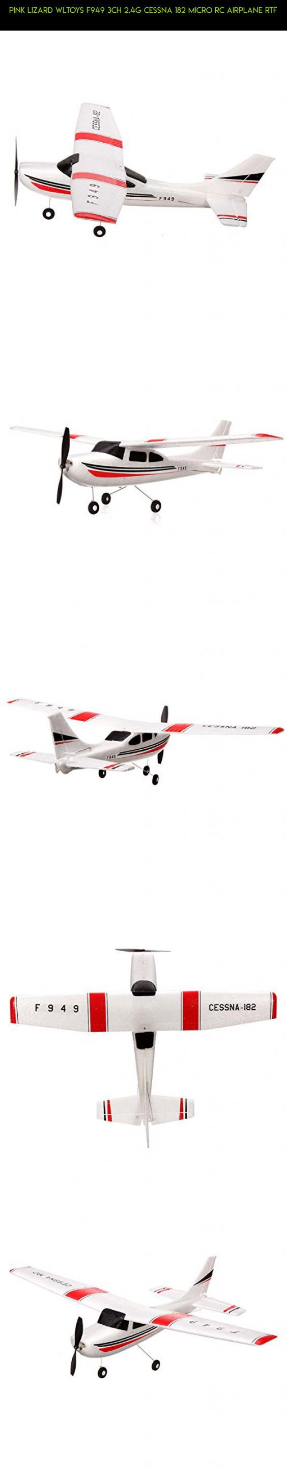 Pink Lizard WLtoys F949 3CH 2.4G Cessna 182 Micro RC Airplane RTF #drone #cessna #182 #tech #gadgets #parts #camera #fpv #products #wltoys #racing #kit #technology #plans #shopping