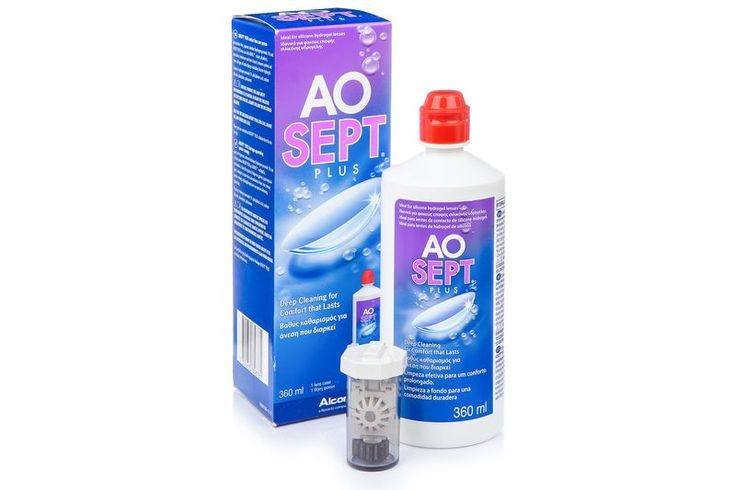 AOSEPT PLUS 360 ml cu suport