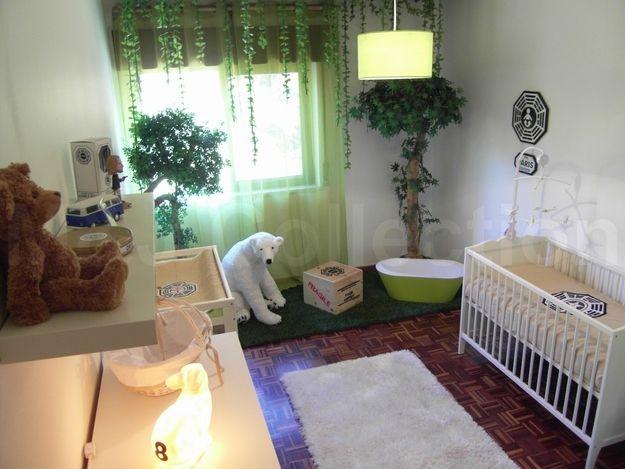 LOST themed nursery