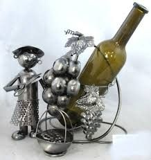 Fém bortartó, szőlő szüret