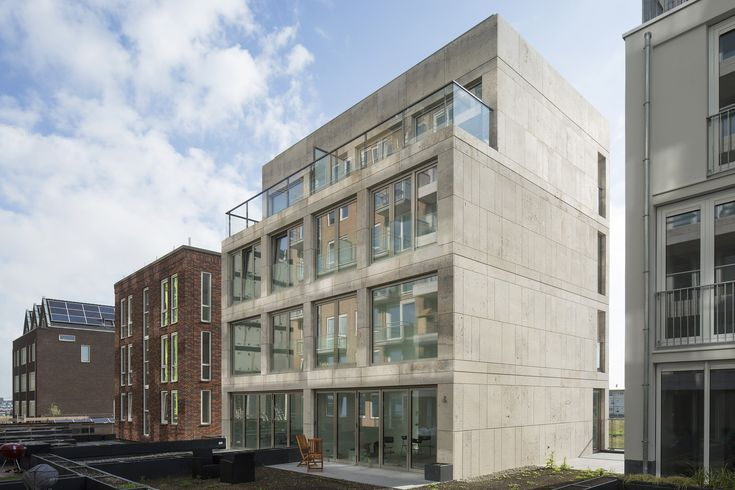 PUUUR Blok / Atelier PUUUR Architectuur en Stedenbouw / Atelier PUUUR i.s.m. Vink   Bouw BV. / Haparandaweg Houthavenkade 19