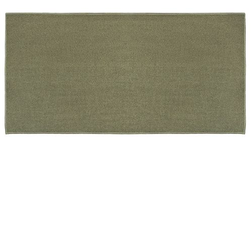Goods of the Woods Sage Green Rectangular Guardian Hearth Rug - 24 Inch x 48 Inch This hearth rug is rectangular in shape and sage green in color. Adding the right rug to your hearth can make a a world of difference in your decor. This rug is one hundred percent