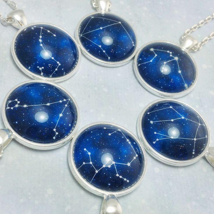 Zodiac necklaces!