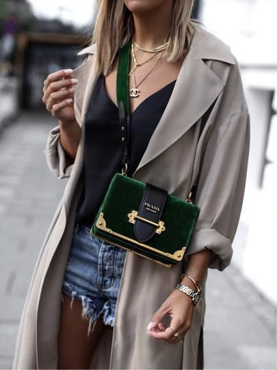 Colour Inspiration. For more Bottle Green inspired fashion & accessories www.ownmuse.com