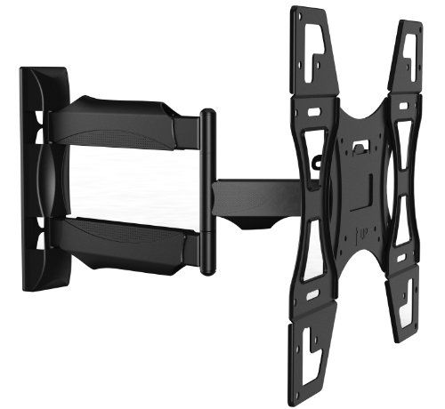 "Invision® TV Wall Mount Bracket - New Slim Line Design With Cantilever Arm Tilt & Rotation Feature For 26 - 55 inch TV Screens, Fits LED, LCD & Plasma, Max VESA 400mm x 400mm (15.8"" x 15.8"") [Please check TV VESA Mounting Holes Before Purchase] Invision http://www.amazon.com/dp/B00393KNVQ/ref=cm_sw_r_pi_dp_62K4tb1QK5RD9"