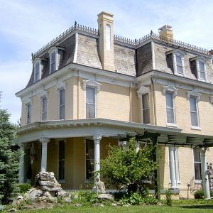 25 best mansard roof ideas on pinterest hip roof for Mansard roof pros and cons