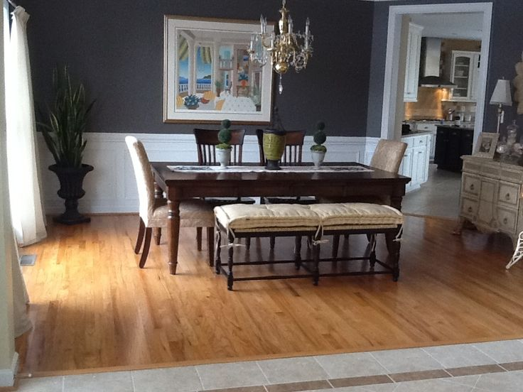 Mixing Trends And Traditional Styles Dining Room BenchDining