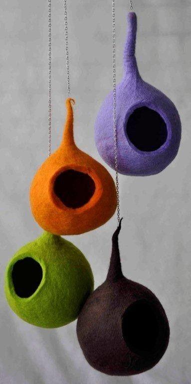 Felted nest :: Fair Trade & Eco Design producten.