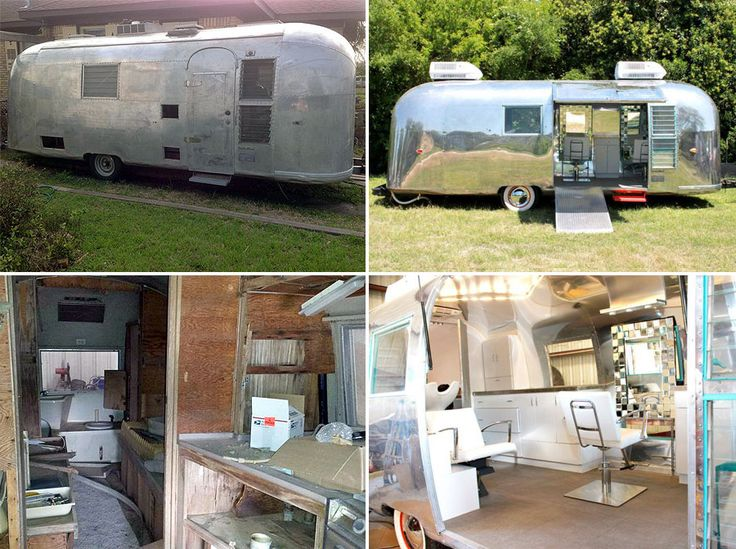 From Airstream To Hairstream One Amazing Transformation