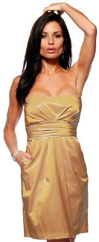 #Strapless Fitted #Satin #Tube #Pleated Pocket Evening Prom #Party #Mini #Dress http://www.mysharedpage.com/strapless-fitted-satin-tube-pleated-pocket-evening-prom-party-mini-dress