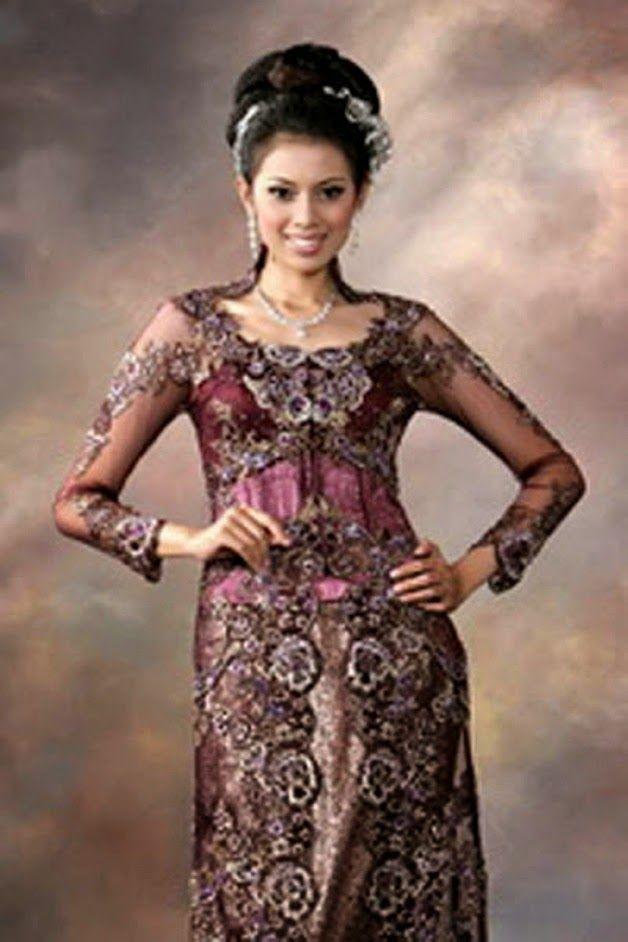 Kebaya Pengantin Jakarta | Desainer dan Penjahit Kebaya Tradisional Modern: Contoh Desain Kebaya Modern