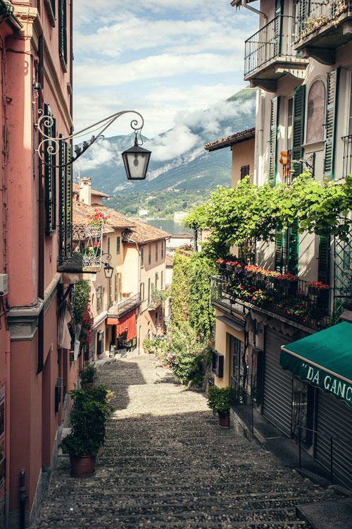 Bellagio, Lake Como, Italy. We have our own Bellagio here in Las Vegas, but this one is so much more beautiful!