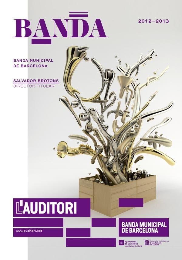 Poster for L'Auditori Campaign by Toormix http://www.toormix.com
