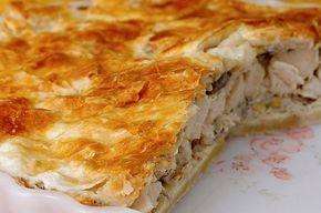 Όταν ο Δημήτρης Σκαρμούτσος μας κακομαθαίνει: Λαχταριστή κοτόπιτα με φύλλο γιαουρτιού - Στην κουζίνα ολοταχώς   eirinika.gr