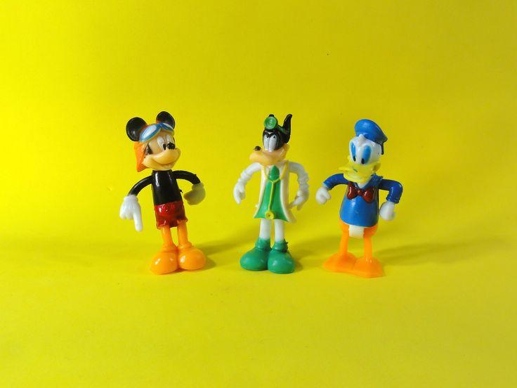 Mickey, Goofy and Donald disney toys unboxing, mickey, pateta, pato donald