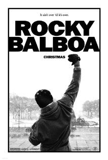"The sixth ""Rocky"": Adrian died years ago and he (guess) named a restaurant after her. Her brother Paulie is still around (guess). And now why you're watching this: Boxer Mason ""The Line"" Dixon, undefeated, wants to challenge a real contender - Rocky. Written/directed by Stallone.  Produced by Irwin Winkler's son Charles (""Rocky Marciano"")."