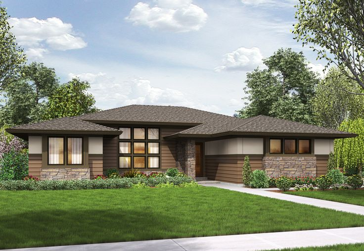 3 Bed Modern Prairie Ranch House Plan - 69603AM   Contemporary, Prairie, Ranch, 1st Floor Master Suite, Butler Walk-in Pantry, CAD Available, Den-Office-Library-Study, PDF, Split Bedrooms, Corner Lot   Architectural Designs