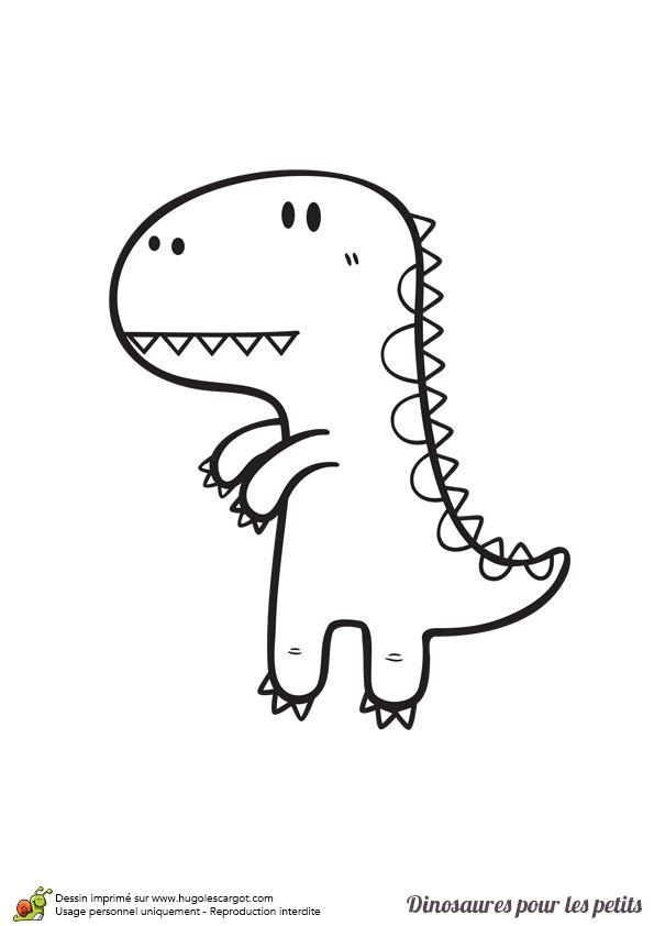 Les 63 meilleures images du tableau coloriages de dinosaures sur pinterest dinosaures - Dinausore dessin ...