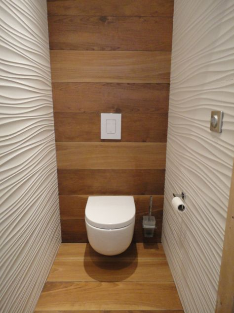 25 best ideas about toilettes deco on pinterest toilet for Wc suspendu decoration