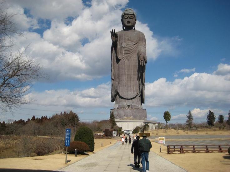 Ushiku Daibutsu The Giant Buddha Statue In Ibaraki
