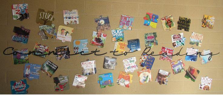 Connect to Reading.  Book Week 2014.  Book covers as jigsaw pieces