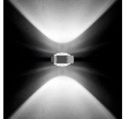Occhio Einzelner Reflektorkopf Sento D - für Hochvolthalogen Body chrom - Linse/Linse