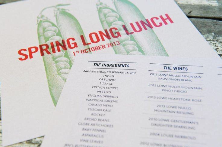 Spring Long Lunch > Lowe Wines > Mudgee NSW