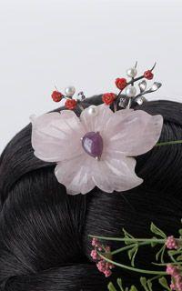 blossoms Hair 뒤꽂이