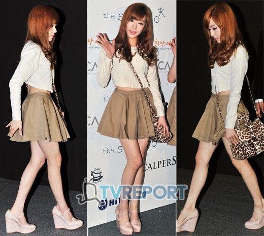 Tiffany Snsd Snsd Tiffany Looks Pinterest Sleeve Snsd And Kpop