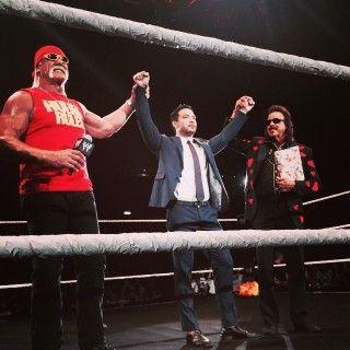 Hulk Hogan and Jimmy Hart Introduces KENTA, Today's Birthdays - http://www.wrestlesite.com/wwe/hulk-hogan-jimmy-hart-introduces-kenta-todays-birthdays/