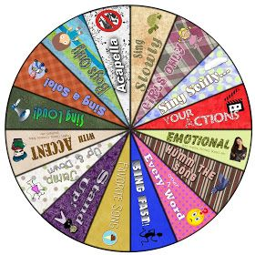 SINGING TIME IDEA: LDS Primary Chorister - Singing Wheel - Freebie Downloads Included! *2014* Update