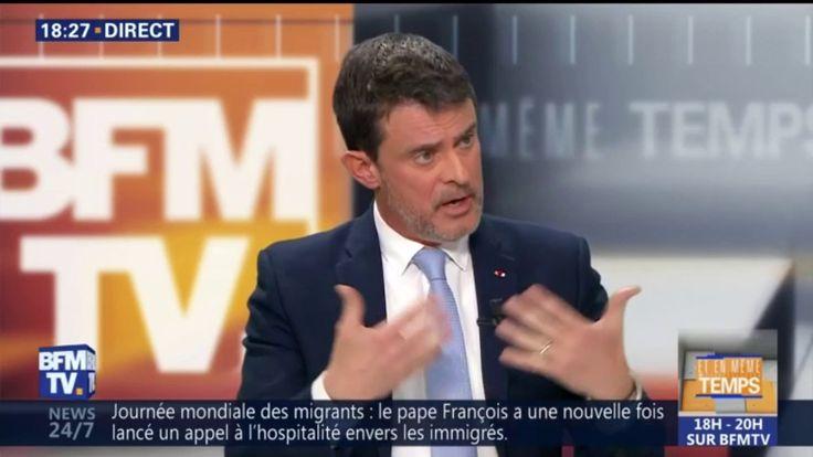 """Pour Manuel Valls, """"il n'y a pas de laïcité radicale"""""""