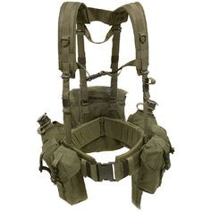 Blackhawk Load Bearing Suspenders and Military Gear Harness