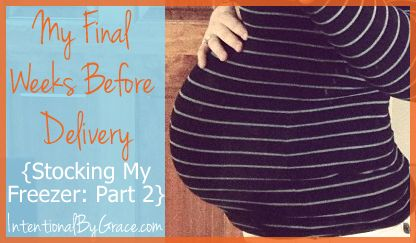Freezer Cooking for New Baby (Trim Healthy Mama style! )