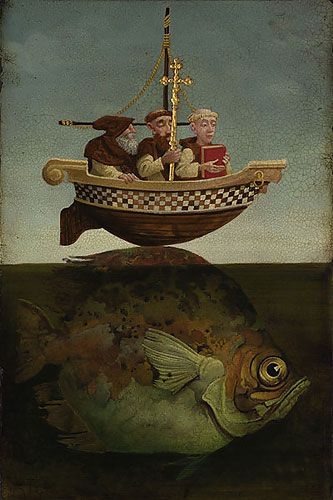 St. Brendan the Navigator by James Christensen  A great story, a great print.
