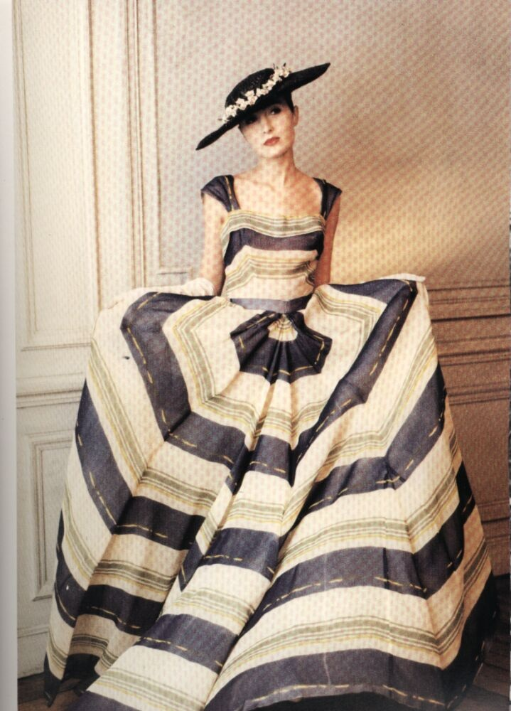1948 - Christian Dior dress                                                                                                                                                      More