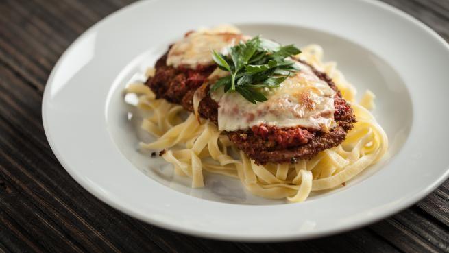 Escalope de veau parmigiana | Signé M