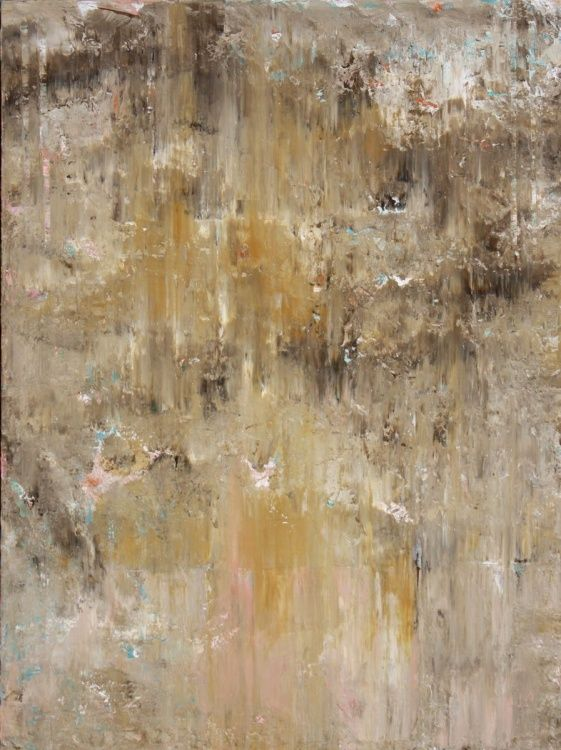 Tuscan Wall Abstract (2016) Acrylic painting by Robert Lynn | Artfinder