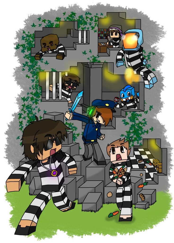 Minecraft: Cops n Robbers! I'm glad I found something with Seto in it, you don't see him much.