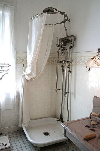 Victorian shower                                                                                                                                                                                 More