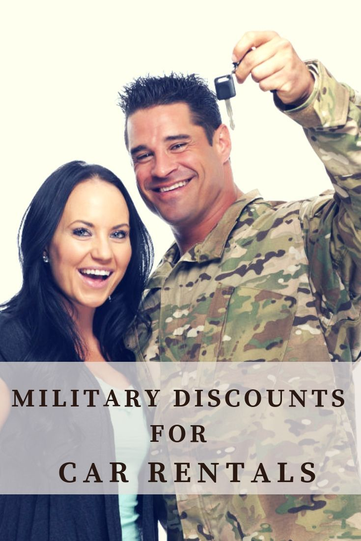 Here S Where To Find The Best Military Discounts For Car Rentals