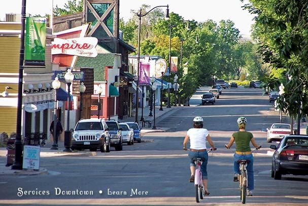 Main Street, Historic Downtown Louisville, Colorado - Lived here in the early 70's #KMGLIFE