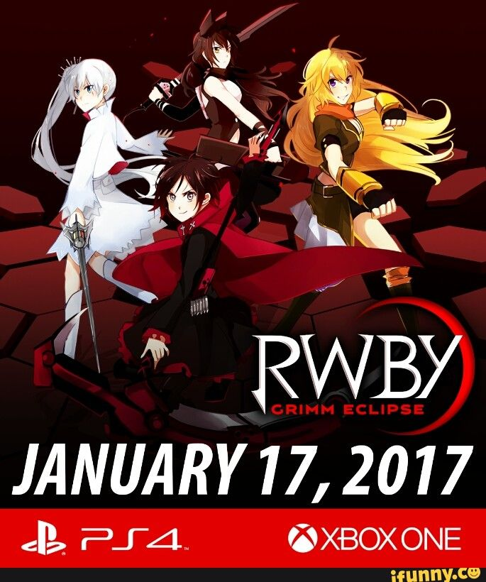 RWBY: RWBY Grimm Eclipse Releasing on January 17, 2017 for PS4 and XBox One