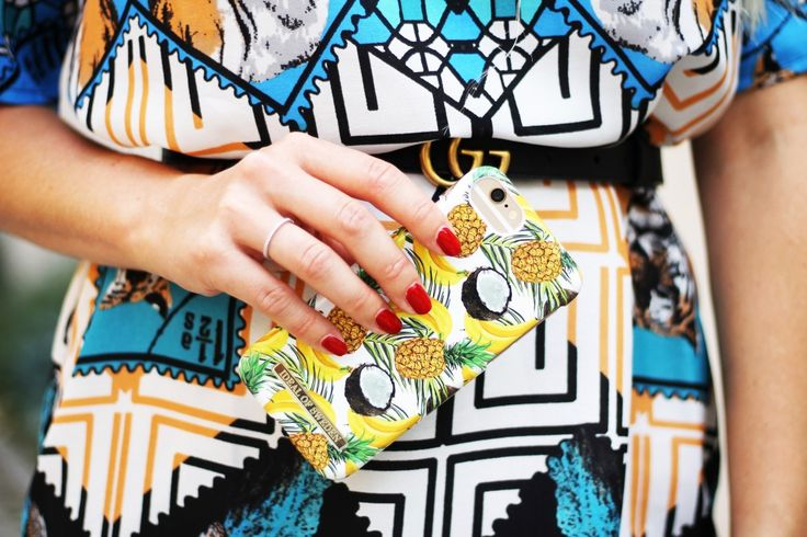Banana Coconut by @lindaviktoriaaa - Fashion case phone cases iPhone inspiration iDeal of Sweden #banana #coconut #accessories #phonecase #summer #iphone #palmtress #ootd