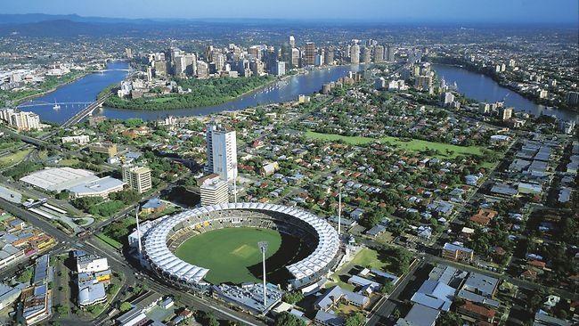 The Gabba, Brisbane.